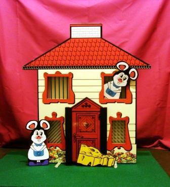 Casa del raton magicus - Raton en casa ...